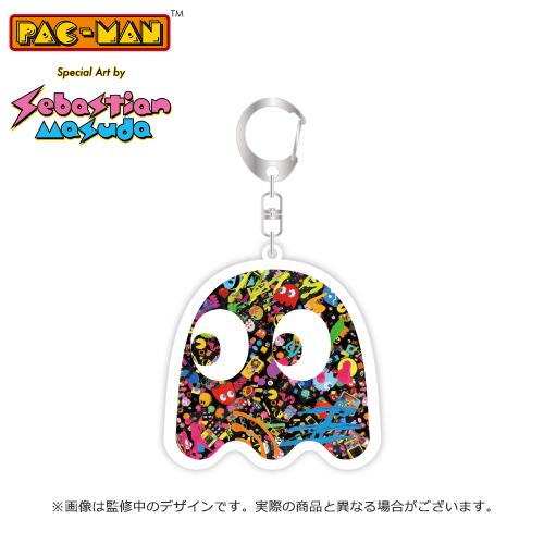 PAC-MAN Special Art by Sebastian Masuda 公式アクリルキーホルダー