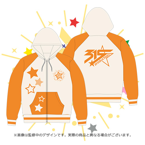 THE IDOLM@STER SideM THANKS ST@RRY PARTY!!!!!ダブルジップパーカー 315 Production DRAMATIC STARS Mサイズ